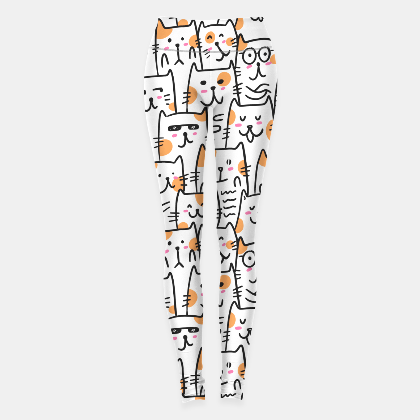 Image of Cats Leggings - Live Heroes