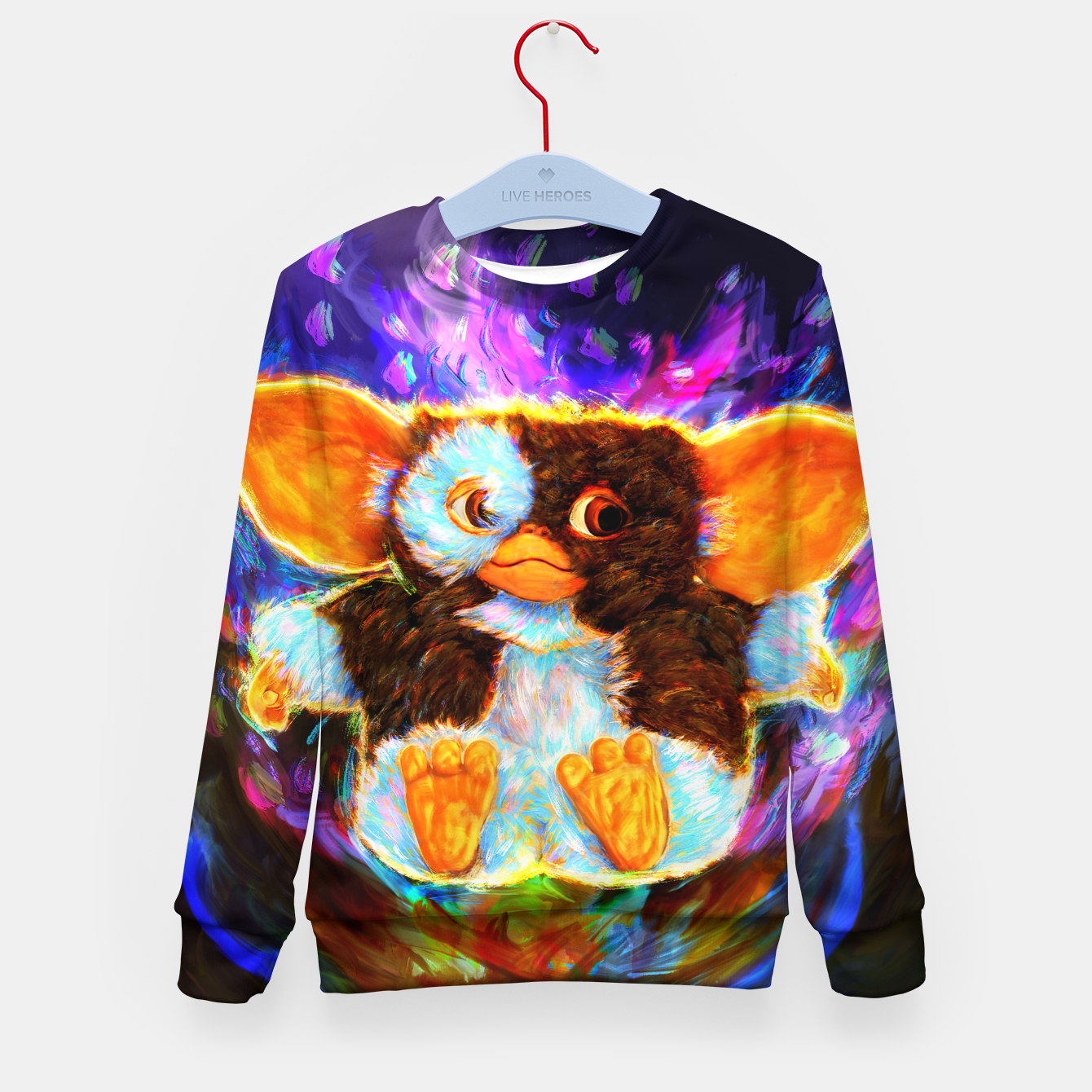 Image of gremlins gizmo Kid's sweater - Live Heroes