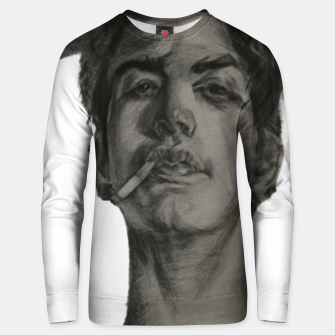 Thumbnail image of Rebellious teenager Unisex sweater, Live Heroes