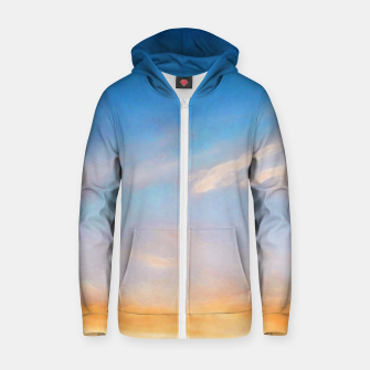 Thumbnail image of Between night and day Zip up hoodie, Live Heroes