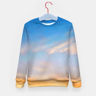 Thumbnail image of Between night and day Kid's sweater, Live Heroes