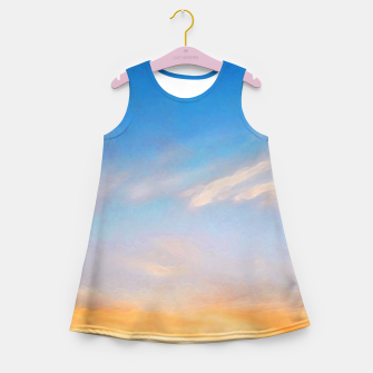 Thumbnail image of Between night and day Girl's summer dress, Live Heroes
