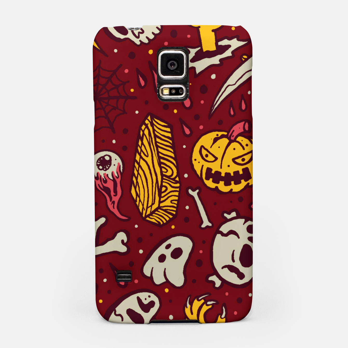 Image of Horror Pattern Samsung Case - Live Heroes