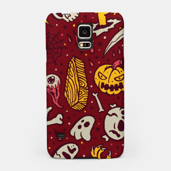 Thumbnail image of Horror Pattern Samsung Case, Live Heroes