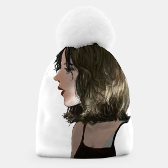 Thumbnail image of Young woman Beanie, Live Heroes