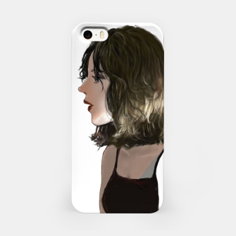 Young woman iPhone Case thumbnail image