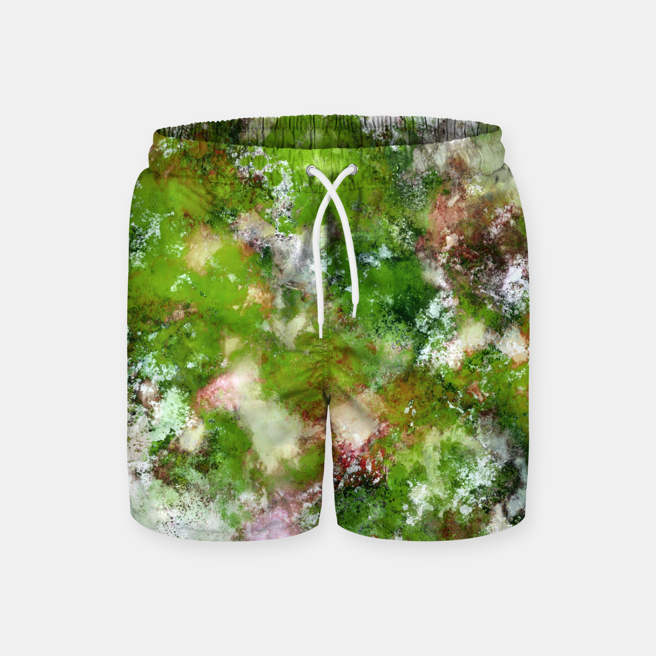 Image of Growing green Swim Shorts - Live Heroes
