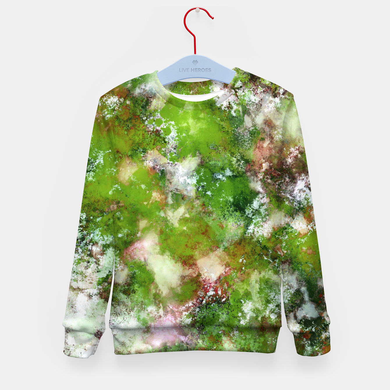 Image of Growing green Kid's sweater - Live Heroes