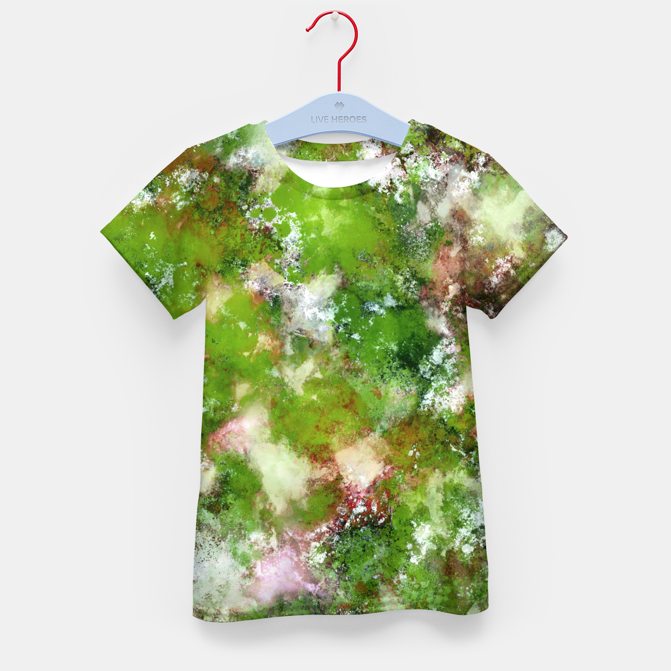 Image of Growing green Kid's t-shirt - Live Heroes