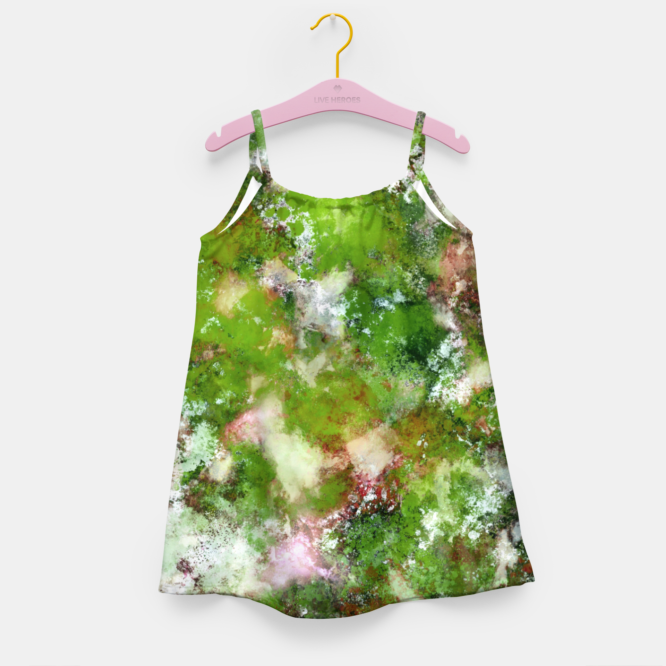 Image of Growing green Girl's dress - Live Heroes