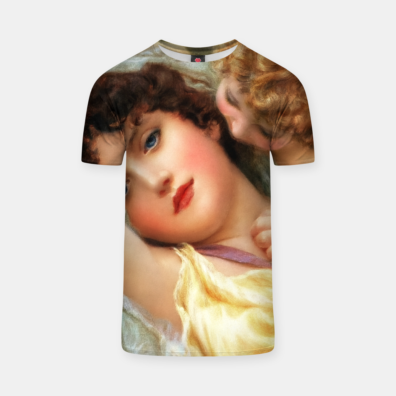 Image of Love Whispers by Norman Prescott-Davies T-shirt - Live Heroes