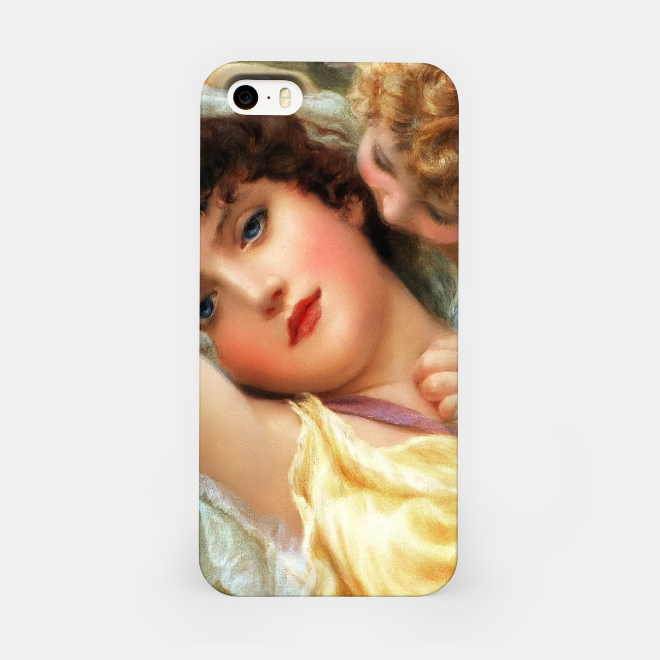 Image of Love Whispers by Norman Prescott-Davies iPhone Case - Live Heroes