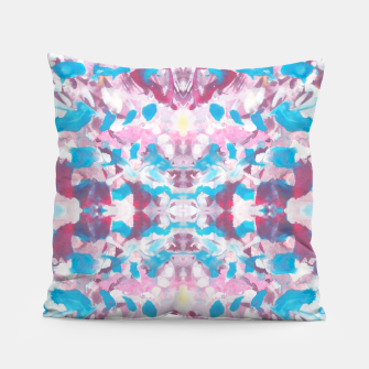 Thumbnail image of Kaleidoscope Painting 8 Pillow, Live Heroes