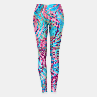 Thumbnail image of Texture Painting 31 Leggings, Live Heroes