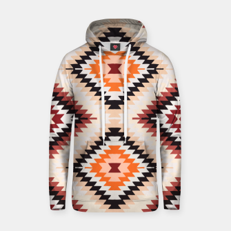 Thumbnail image of Boho Southwest Oriental Traditional Geometric Style Hoodie, Live Heroes