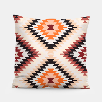 Thumbnail image of Boho Southwest Oriental Traditional Geometric Style Pillow, Live Heroes