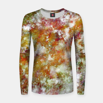 Thumbnail image of Autumn day Women sweater, Live Heroes