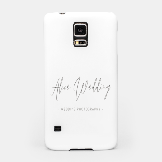 Thumbnail image of Hand-painted plants romantic wedding Samsung Case, Live Heroes