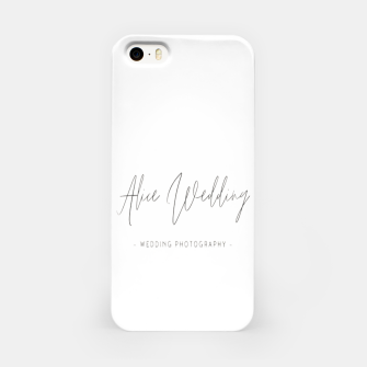 Thumbnail image of Hand-painted plants romantic wedding iPhone Case, Live Heroes