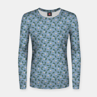 Thumbnail image of Dancing flowers with lively leaves Women sweater, Live Heroes