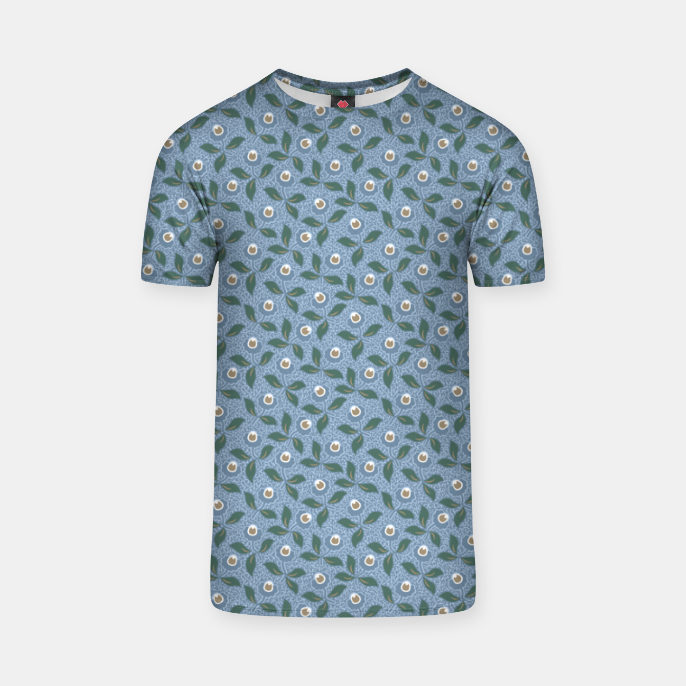 Image of Dancing flowers with lively leaves T-shirt - Live Heroes