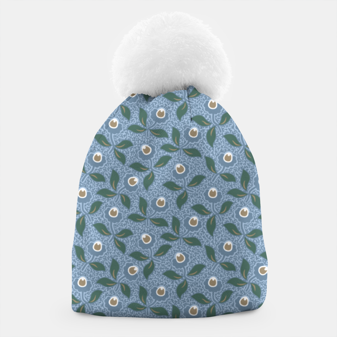 Image of Dancing flowers with lively leaves Beanie - Live Heroes