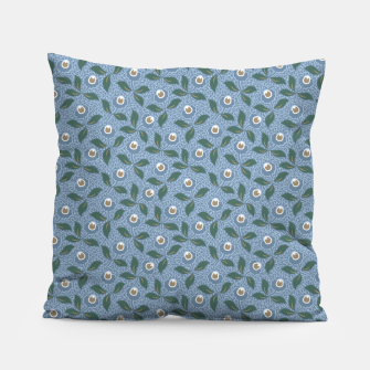Thumbnail image of Dancing flowers with lively leaves Pillow, Live Heroes