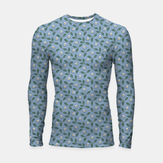 Thumbnail image of Dancing flowers with lively leaves Longsleeve rashguard , Live Heroes