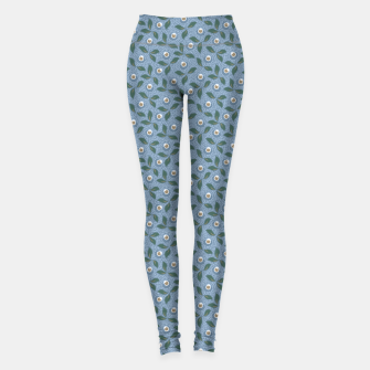 Thumbnail image of Dancing flowers with lively leaves Leggings, Live Heroes