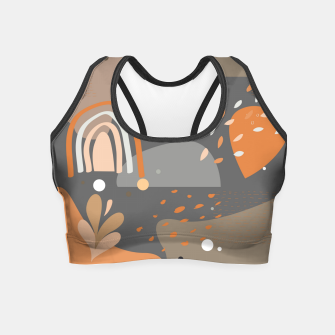 Thumbnail image of Abstract 02 Crop Top, Live Heroes