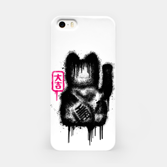 Thumbnail image of Lucky Cat Spray iPhone Case, Live Heroes
