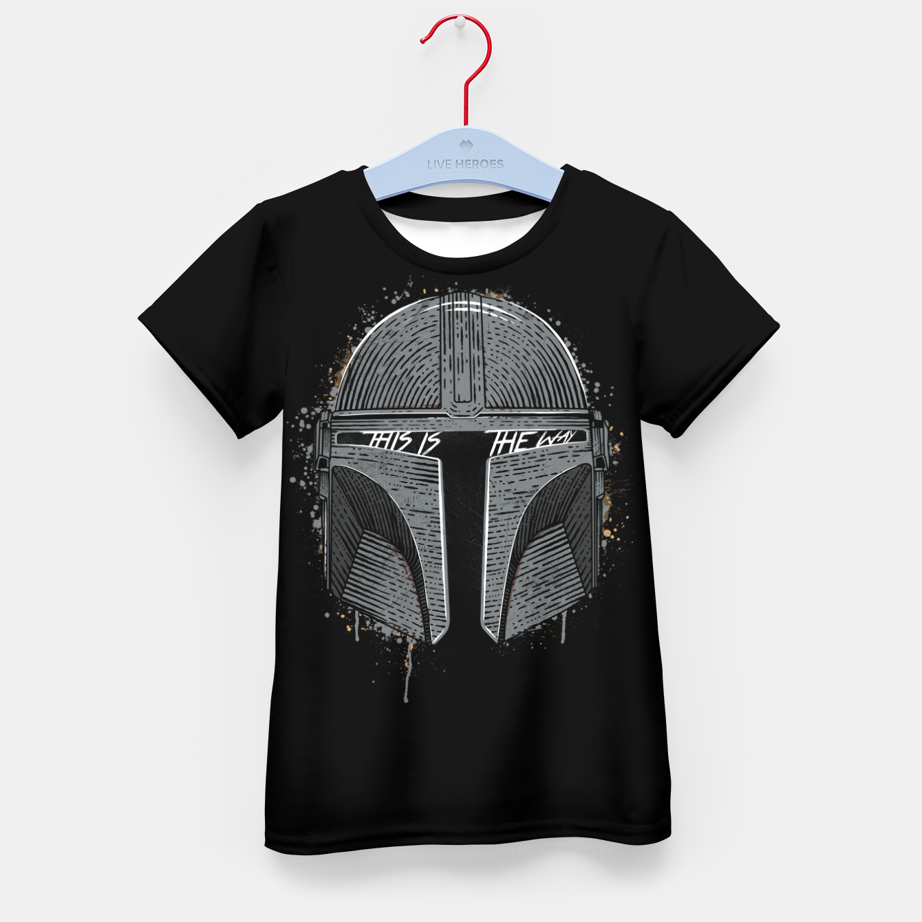 Image of This is the way Kid's t-shirt - Live Heroes