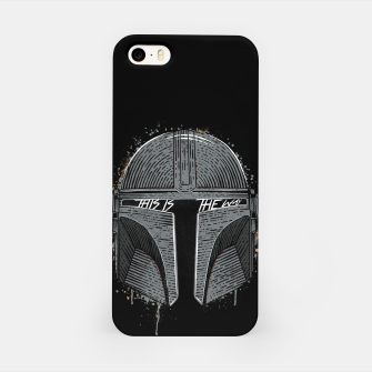 Thumbnail image of This is the way iPhone Case, Live Heroes