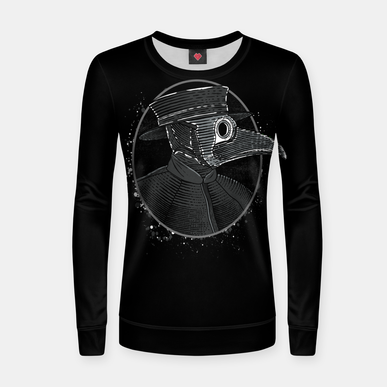 Image of Plague Doctor Women sweater - Live Heroes