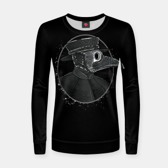 Thumbnail image of Plague Doctor Women sweater, Live Heroes