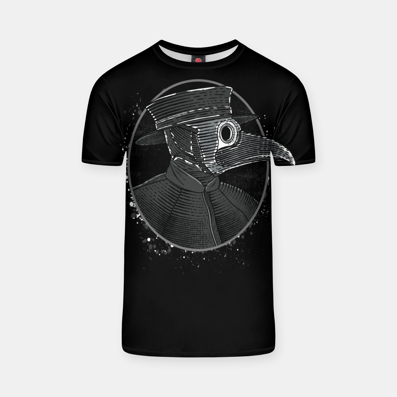 Image of Plague Doctor T-shirt - Live Heroes