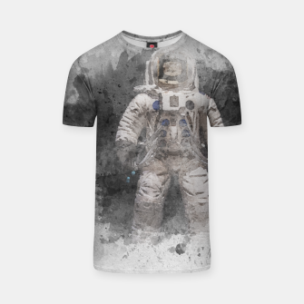 Thumbnail image of Astronaut Watercolor T-shirt, Live Heroes