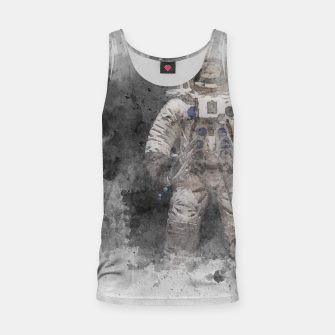 Thumbnail image of Astronaut Watercolor Tank Top, Live Heroes