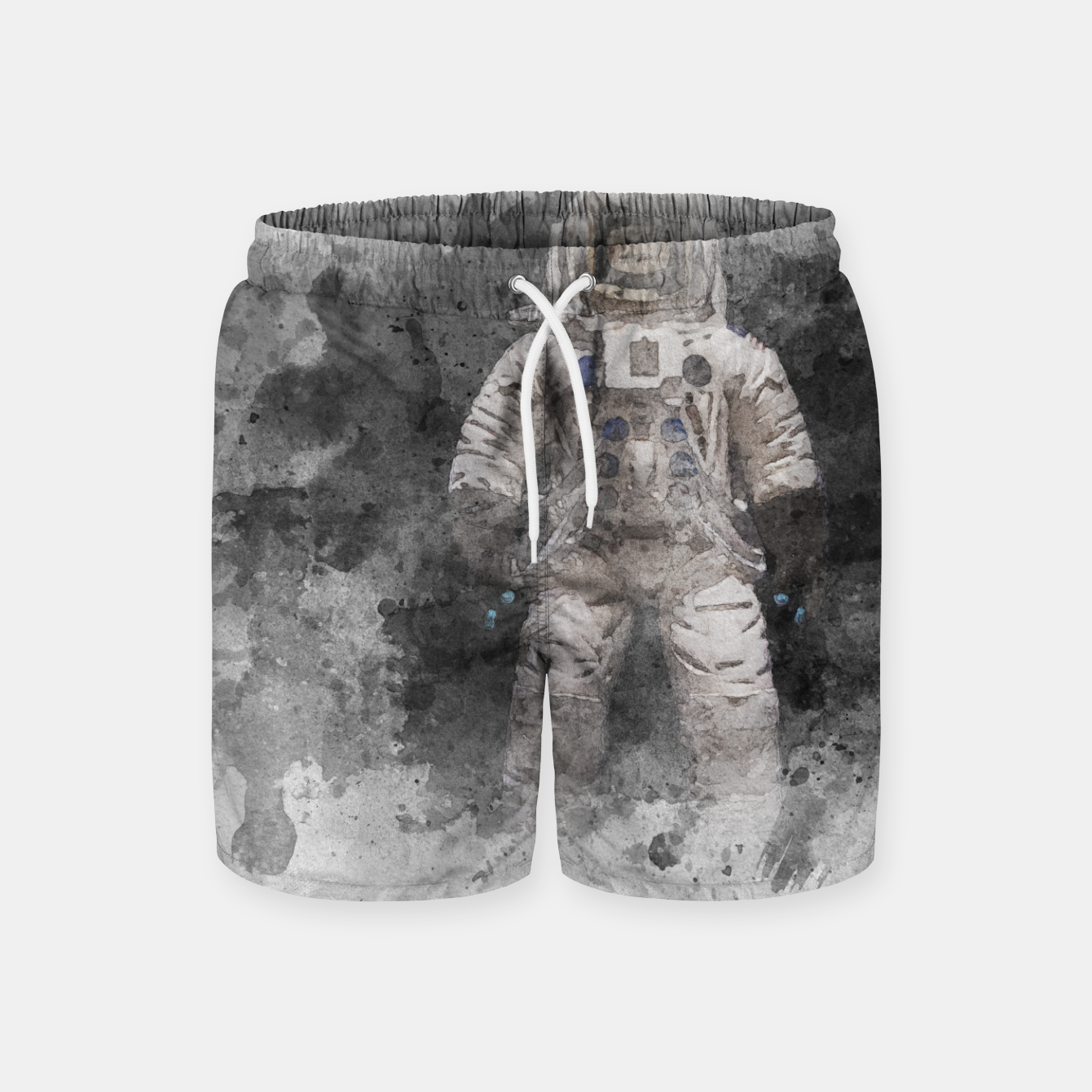 Image of Astronaut Watercolor Swim Shorts - Live Heroes