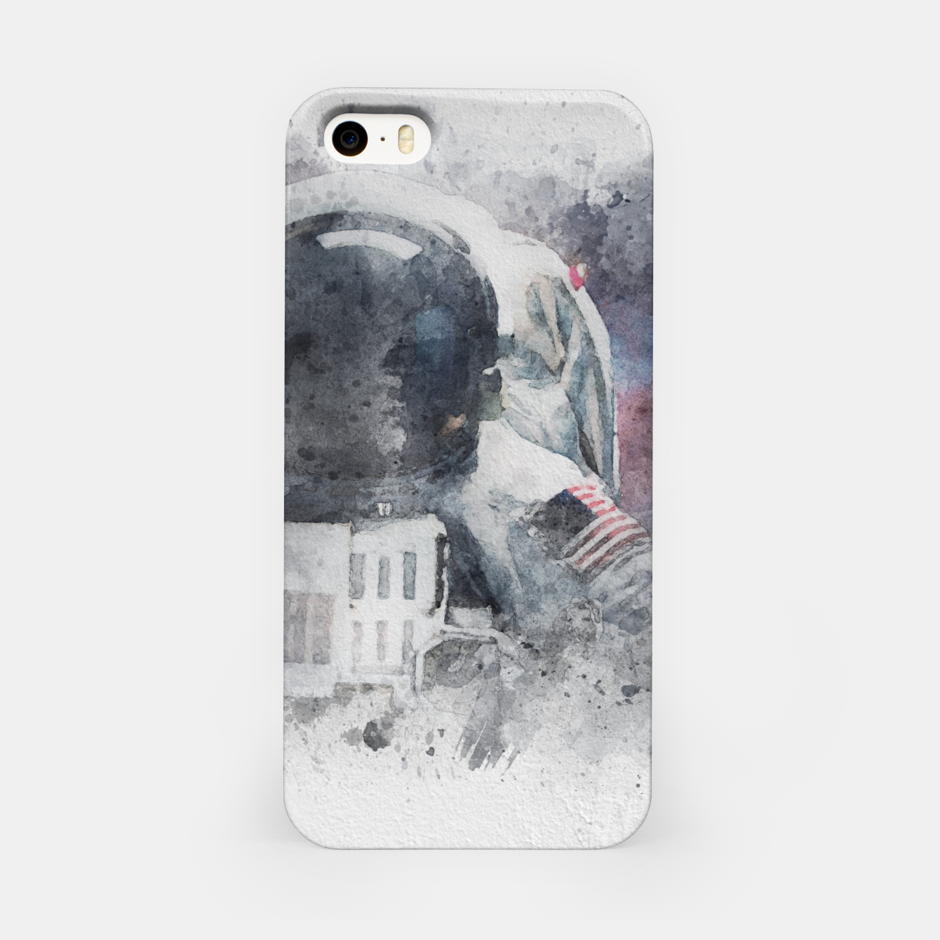 Image of Astronaut Watercolor iPhone Case - Live Heroes