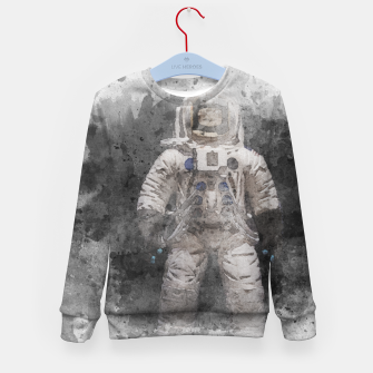 Thumbnail image of Astronaut Watercolor Kid's sweater, Live Heroes