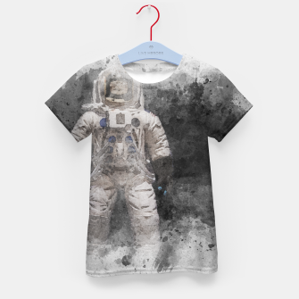 Thumbnail image of Astronaut Watercolor Kid's t-shirt, Live Heroes