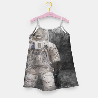 Thumbnail image of Astronaut Watercolor Girl's dress, Live Heroes