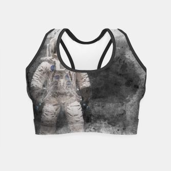 Thumbnail image of Astronaut Watercolor Crop Top, Live Heroes