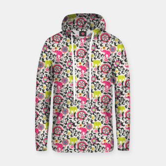 Thumbnail image of Boho Oriental Traditional Traditional Elephant  Style Hoodie, Live Heroes