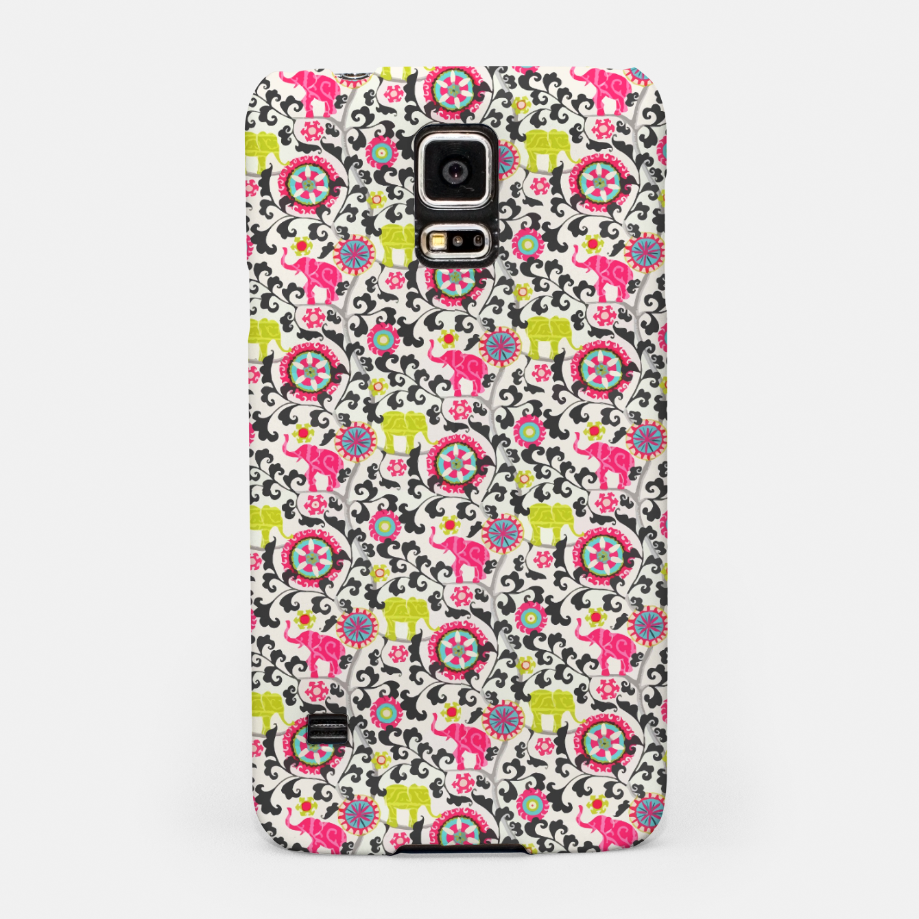 Image of Boho Oriental Traditional Traditional Elephant  Style Samsung Case - Live Heroes