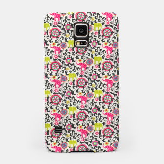 Thumbnail image of Boho Oriental Traditional Traditional Elephant  Style Samsung Case, Live Heroes
