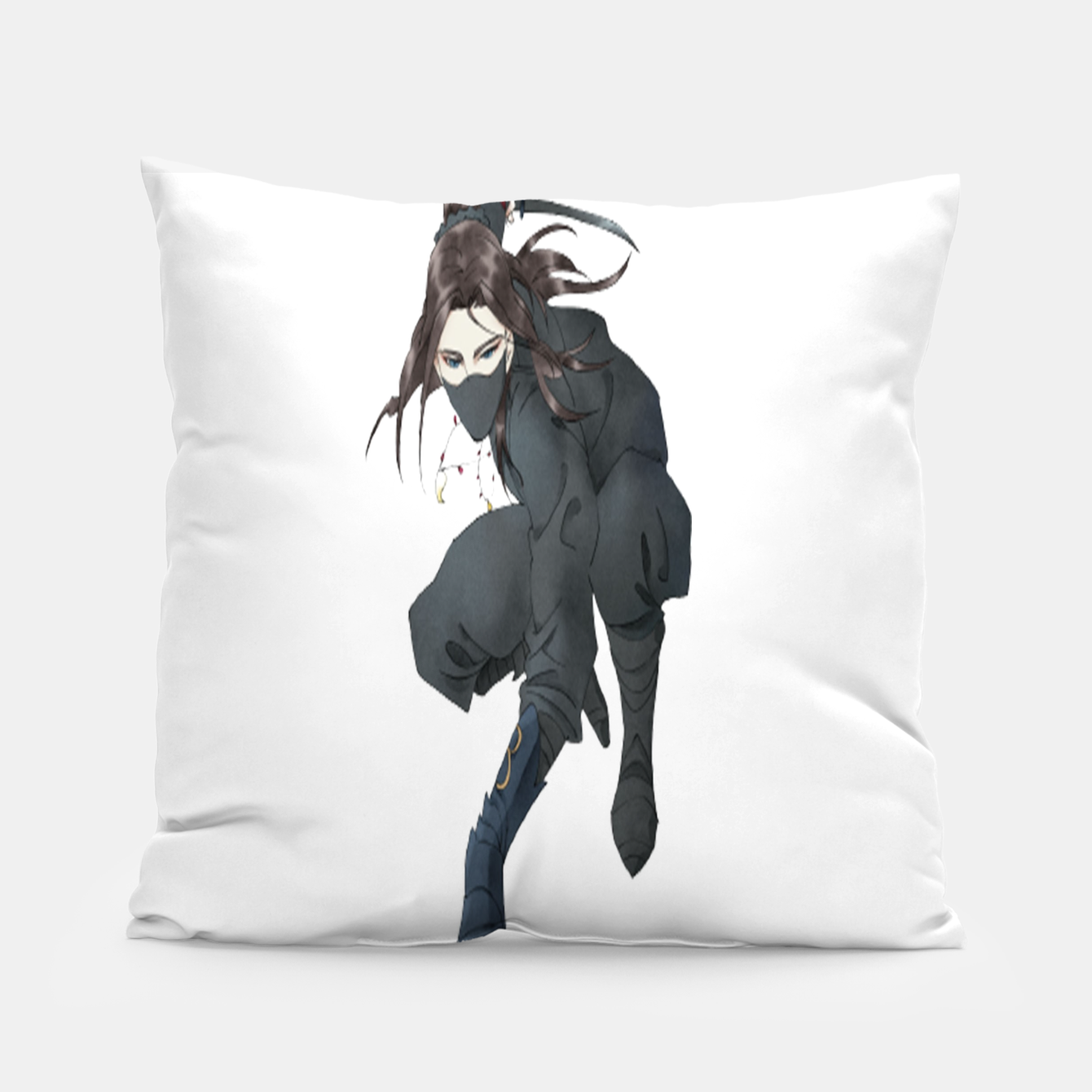Image of Assassin of the Night Pillow - Live Heroes