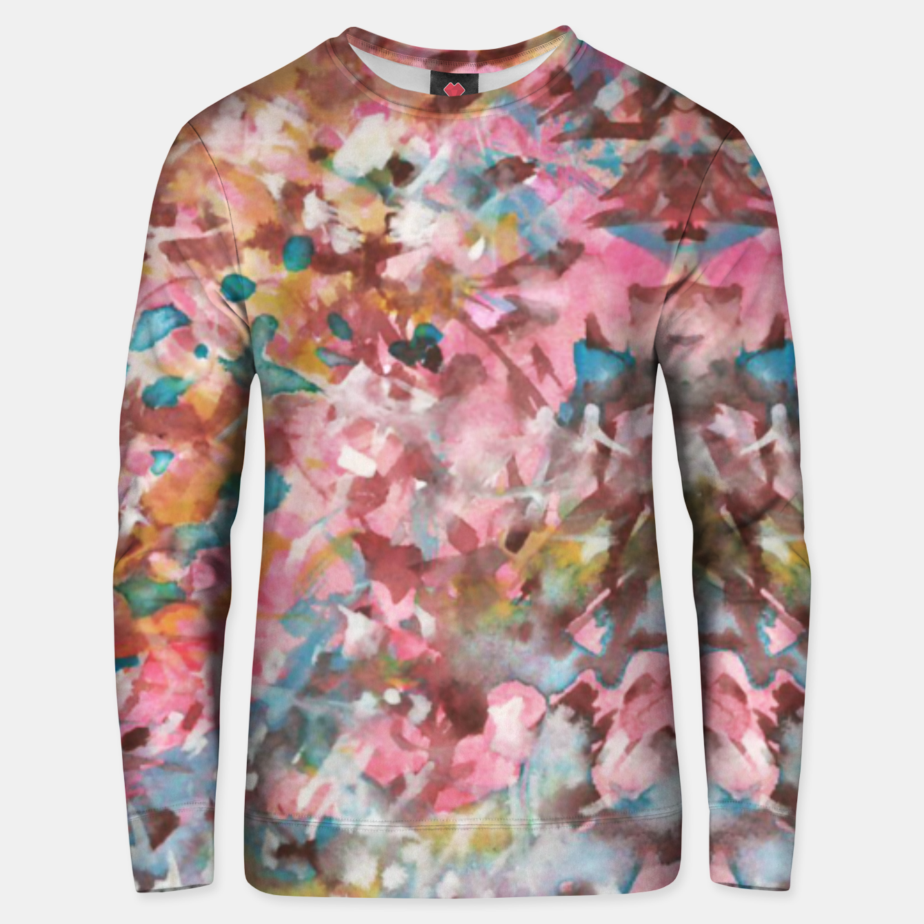 Image of Background Painting 9 Unisex sweater - Live Heroes
