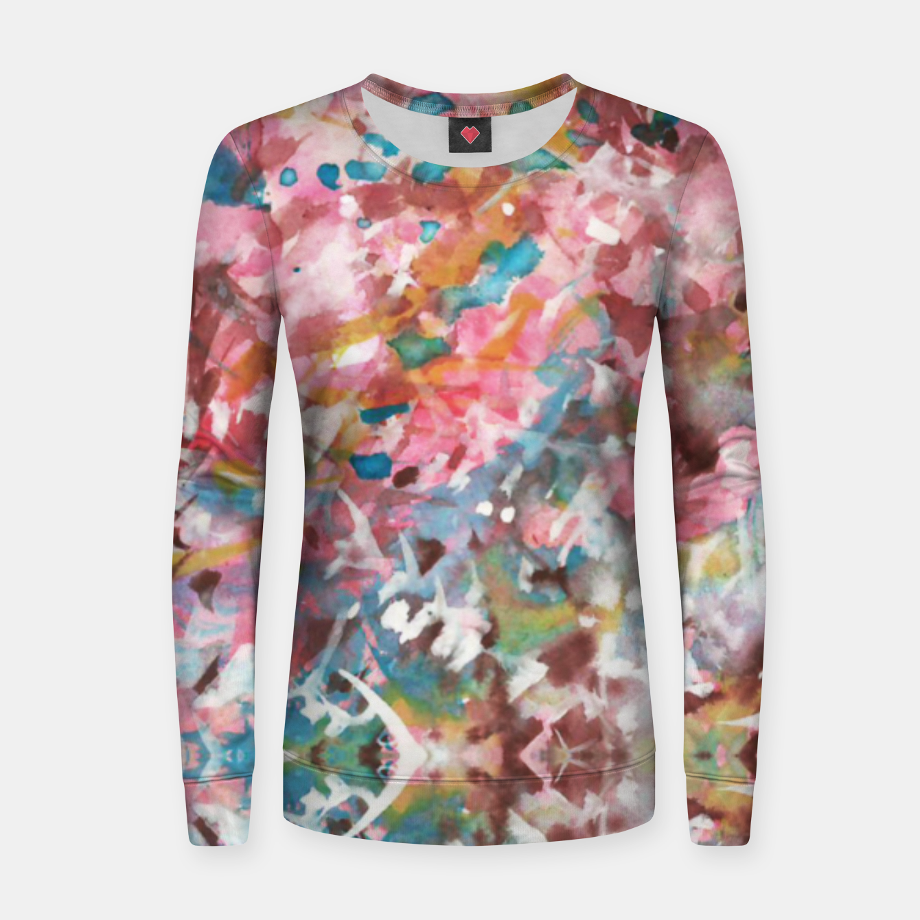 Image of Background Painting 9 Women sweater - Live Heroes